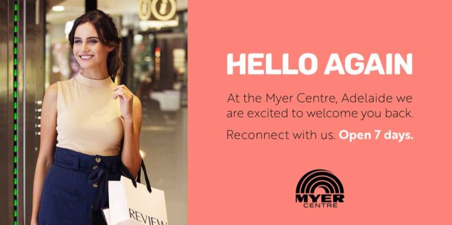 Myer Centre Rundle Mall