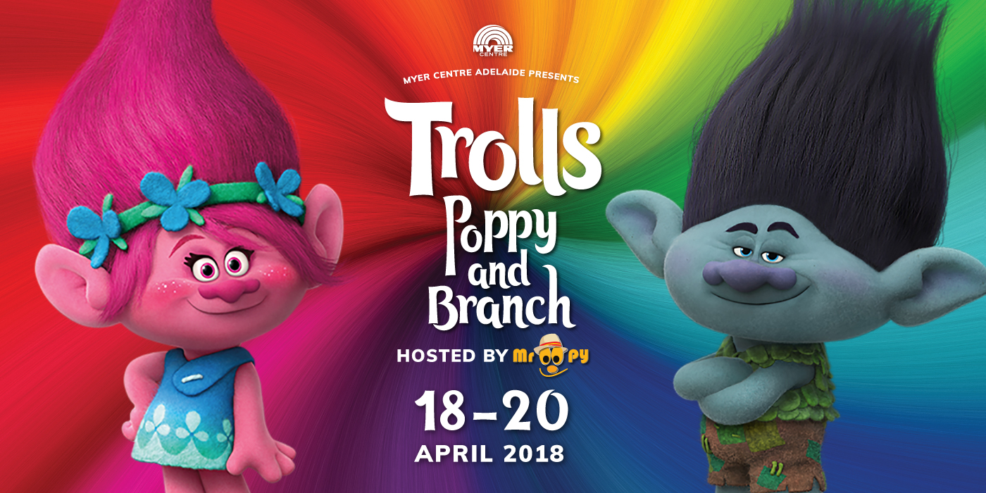 Meet Your Favourite Trolls Poppy Branch At Myer Centre